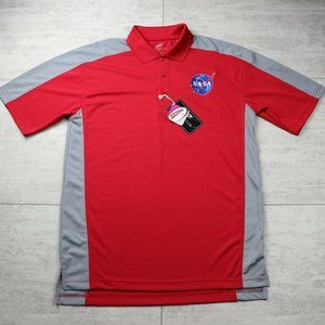 Men's Ultra Club Cool & Dry NASA Embroidered Polo